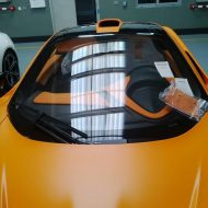 image mclaren orange 2 190x190 Der erste   Satin Orange lackierter McLaren P1