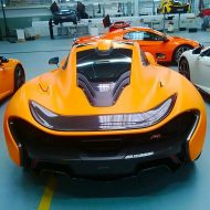 image mclaren orange 3 190x190 Der erste   Satin Orange lackierter McLaren P1