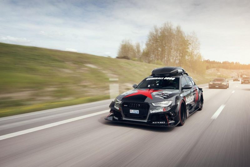 For Sale Jon Olsson 1 000 3000 Ps Gumball Rally Audi Rs6