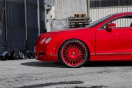 lipstick red bentley gt sports widebody kit 3 190x127 Bentley Continental GT mit Widebody Kit und Forgiato Wheels