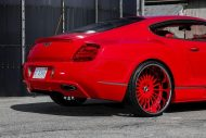 lipstick red bentley gt sports widebody kit 7 190x127 Bentley Continental GT mit Widebody Kit und Forgiato Wheels