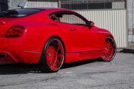 lipstick red bentley gt sports widebody kit 8 190x127 Bentley Continental GT mit Widebody Kit und Forgiato Wheels