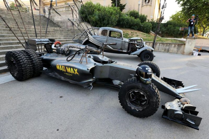 lotus f1 mad max fury road themed formula 1 car 1 Das ist die apokalyptische Version der Formel 1