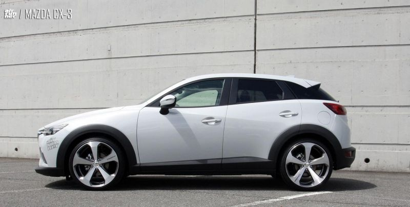 mazda cx 3 mit 19 zoll lv5 felgen und aac inc. Black Bedroom Furniture Sets. Home Design Ideas