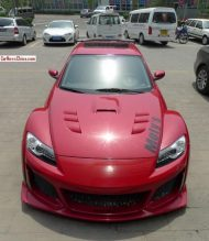 mazda x8 china 1 tuning 1 190x219 Brutalo Wide Body Kit am Mazda RX8 in China