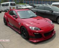 mazda x8 china 1 tuning 2 190x156 Brutalo Wide Body Kit am Mazda RX8 in China