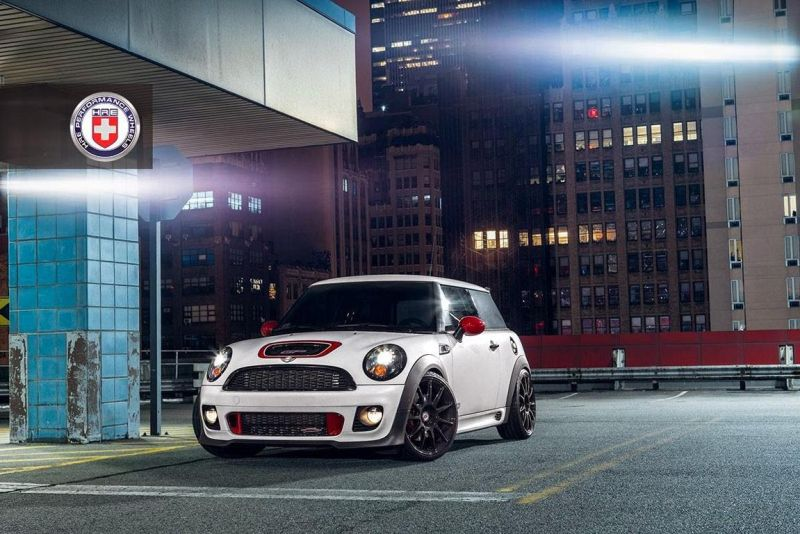 mini cooper gp hre wheels alufelgen 01 Mini Cooper GP mit P43SC HRE Performance Wheels