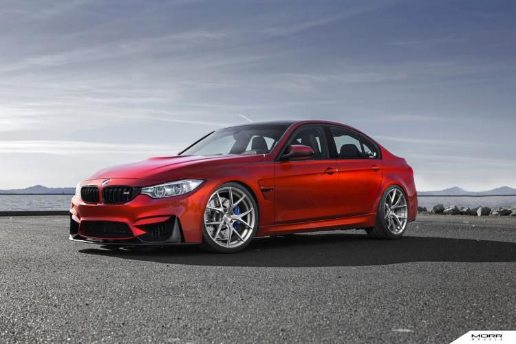 bmw m3 f80 in sakhir orange mit morr wheels und kw fahrwerk. Black Bedroom Furniture Sets. Home Design Ideas