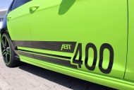 neon green golf r with 400 hp 1 190x127 VW Golf R mit 400 PS in Neon Grün vom Tuner ABT Sportsline