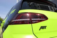neon green golf r with 400 hp 2 190x127 VW Golf R mit 400 PS in Neon Grün vom Tuner ABT Sportsline