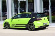 neon green golf r with 400 hp 4 190x127 VW Golf R mit 400 PS in Neon Grün vom Tuner ABT Sportsline