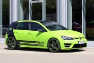 neon green golf r with 400 hp 6 190x127 VW Golf R mit 400 PS in Neon Grün vom Tuner ABT Sportsline