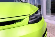 neon green golf r with 400 hp 8 190x127 VW Golf R mit 400 PS in Neon Grün vom Tuner ABT Sportsline