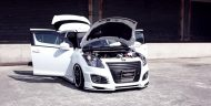 suzuki swift sport looks cool with beli kit 10 190x96 Suzuki Swift Sport mit BELi Kit und AirRide Fahrwerk