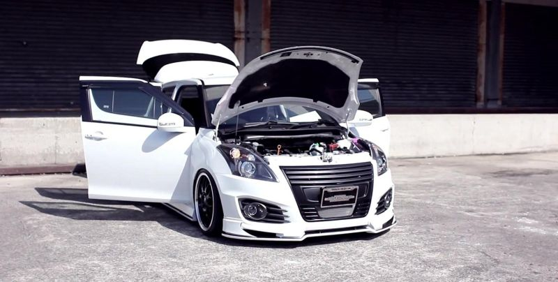 Suzuki Swift Sport with Beli kit and suspension AirRide