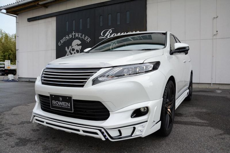 tuned toyota harrier by rowen looks like a sporty lexus rx 1 Rowen International macht den Toyota Harrier zum Lexus RX
