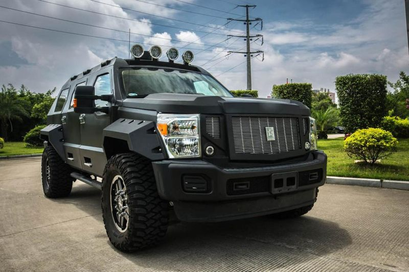 ussv ford f450 tuning 6 Ford F 450 Super Duty getunt zum G. Patton Rhino GX