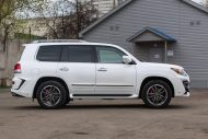 white lexus lx 570 with larte tuning kit 10 190x127 Lexus LX 570 mit Larte Design Alligator Tuning Kit