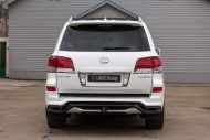 white lexus lx 570 with larte tuning kit 5 190x127 Lexus LX 570 mit Larte Design Alligator Tuning Kit