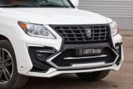 white lexus lx 570 with larte tuning kit 6 190x127 Lexus LX 570 mit Larte Design Alligator Tuning Kit