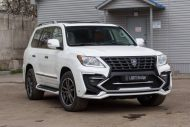 white lexus lx 570 with larte tuning kit 7 190x127 Lexus LX 570 mit Larte Design Alligator Tuning Kit