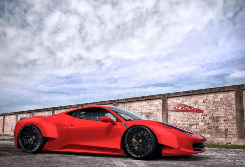 10531242 888211827919221 5630457288215043437 o Extreme LB Ferrari 458 Alternative von Bengala Design