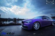 10854927 1072081872808187 7068392267998558437 o 190x127 Ultrafett   BMW 7er F01 mit Lila Folierung und Vossen Wheels
