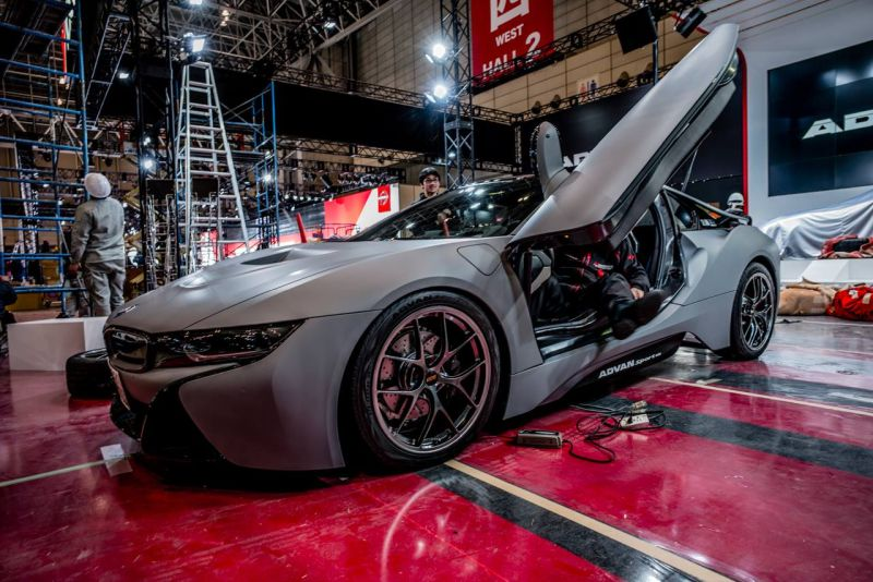 Tuner Study Ag From Japan Shows Its Bmw I8 Tuningblog Eu Magazine