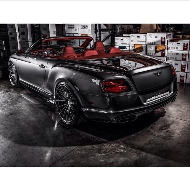 11108263 851471491557290 4679035765035838103 n Bentley GTC Convertible mit 22 Zoll HRE Wheels Alus