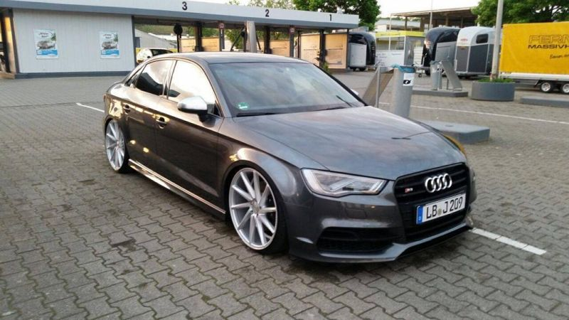 audi s3 8v vom tuner exclusive worx mit vossen wheels magazin. Black Bedroom Furniture Sets. Home Design Ideas
