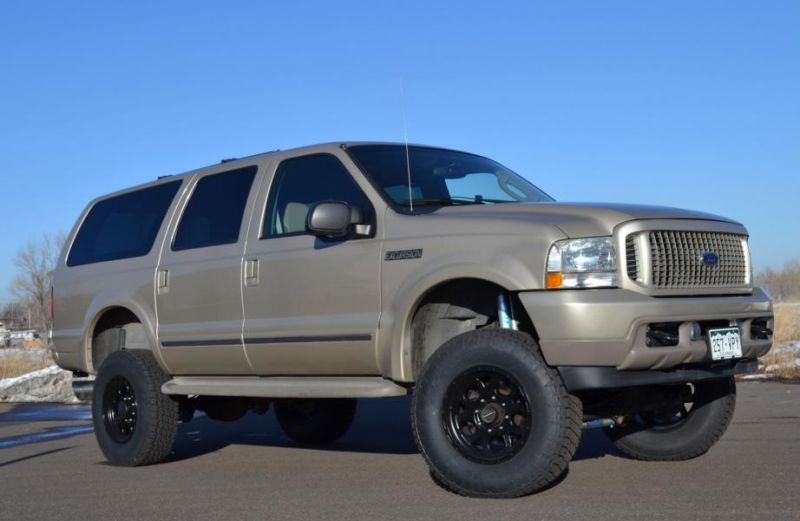2004 ford excursion tuning 1 2004er Ford Excursion mit 600 Diesel PS und Allison Getriebe