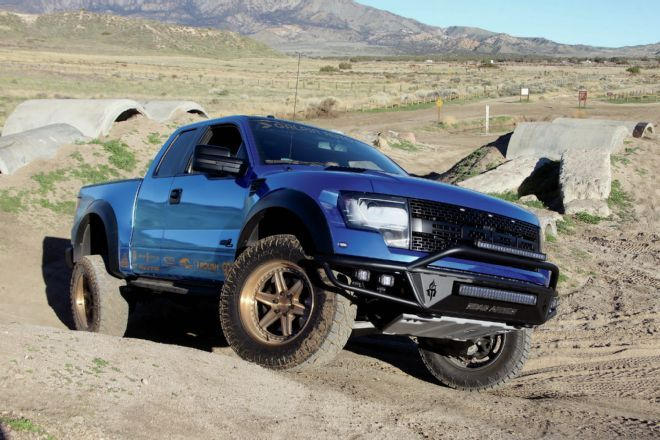 2013 ford raptor wheeling tuning 1 2013er Ford F 150 Raptor   Galpin Auto Sports Power mit 590 PS