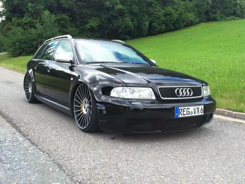 audi rs4 b5 avant mit gewindefahrwerk. Black Bedroom Furniture Sets. Home Design Ideas