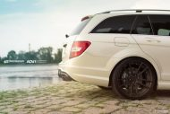 ATT Tec Mercedes C63 AMG On ADV5.2 MV2 CS By ADV.1 Wheels 8 190x127 Mercedes Benz C63 AMG mit 20 Zoll ADV.1 Wheels Alufelgen