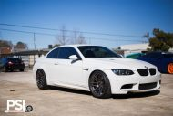 Alpine White BMW E92 M3 With Forgestar Wheels By PSI 2 190x127 PSI (Precision Sport Industries) tunt das BMW E93 M3 Cabrio