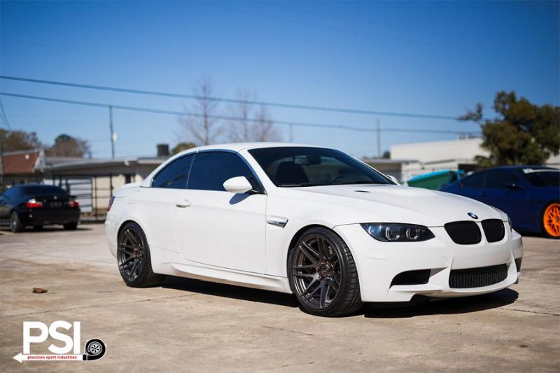 Alpine-White-BMW-E92-M3-With-Forgestar-Wheels-By-PSI-2