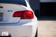 Alpine White BMW E92 M3 With Forgestar Wheels By PSI 6 190x127 PSI (Precision Sport Industries) tunt das BMW E93 M3 Cabrio
