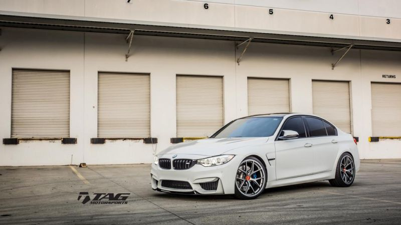 Alpine White BMW M4 Build By TAG Motorsports 15 Alpine weißer BMW M3 F80 vom Tuner TAG Motorsports