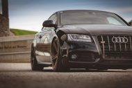 Audi A5 3.0 TDI Supersprint Tuning 3 190x127 Schwarzer Audi A5 3.0 TDI mit Supersprint Auspuffanlage