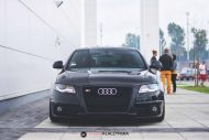 Audi S4 On Vossen Forged VPS 304 By Vossen Wheels 5 190x127 Vossen Wheels VPS 304 in Rot an der Audi A4 S4 Limo