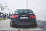 Audi S4 On Vossen Forged VPS 304 By Vossen Wheels 6 190x127 Vossen Wheels VPS 304 in Rot an der Audi A4 S4 Limo