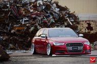 Audi S6 On VLE1 By Vossen Wheels tuning 3 190x127 Audi A6 S6 4G mit Vossen Wheels Alufelgen Typ VLE 1