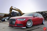 Audi S6 On VLE1 By Vossen Wheels tuning 5 190x127 Audi A6 S6 4G mit Vossen Wheels Alufelgen Typ VLE 1
