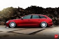 Audi S6 On VLE1 By Vossen Wheels tuning 6 190x127 Audi A6 S6 4G mit Vossen Wheels Alufelgen Typ VLE 1