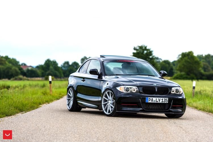 BMW 1 Series Coupe On Vossen CVT Wheels 2 1 BMW 1er Coupe auf Vossen Wheels CVT Alufelgen