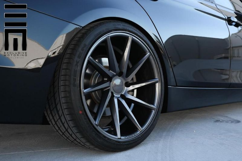 BMW 3 Series CVT 7d7 1 Vossen Wheels CVT in Dunkelgrau am BMW 3er F30