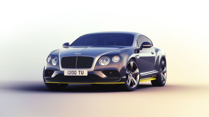 Bentley Continental GT Speed Breitling 1 Nur 7 Stück   Bentley Continental GT Speed ​​Breitling Jet Team