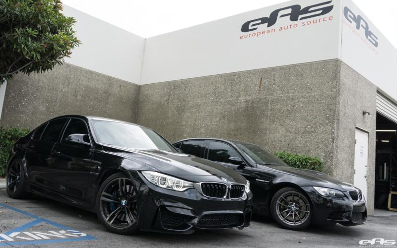 Black Sapphire Couple Of BMW M3 Visit European Auto Source 2 BMW E92 M3 & F80 M3   tiefergelegt beim Tuner EAS