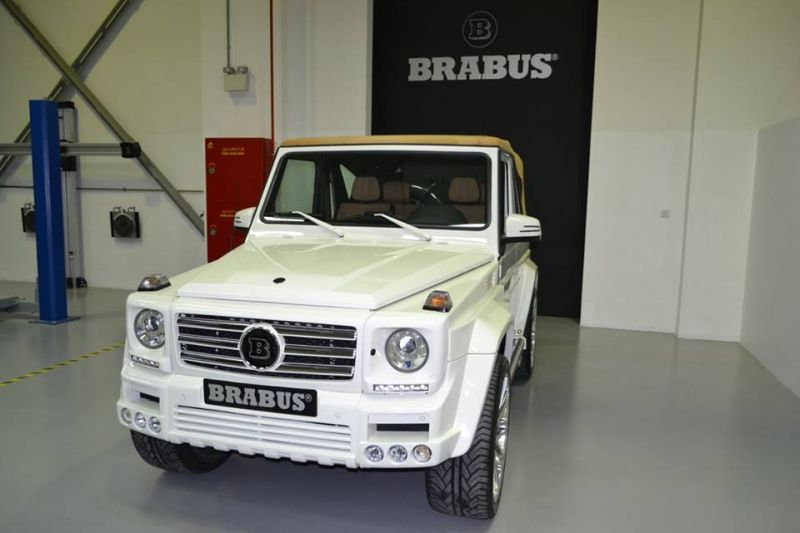 brabus mercedes g500 cabrio tuning 1 magazin. Black Bedroom Furniture Sets. Home Design Ideas