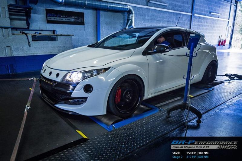 Chiptuning Renault Mégane 3 RS 2.0T BR Perfromance 1